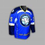 Хоккейный  свитер Белые Медведи синий