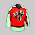 Хоккейный  свитер ХК Легион-красный