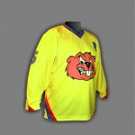 Хоккейный  свитер ХК Стугна-желтые